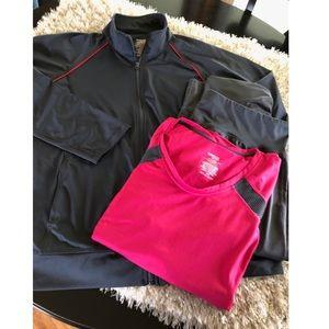 Bundle of 3 Athletic Wear Pieces Size 2X